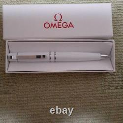 Omega Ballpoint Pen Matte White Avec Package Box Giveaway Pas À Vendre Nouveauté