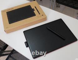 One By Wacom Bamboo Splash Pen Tablet Medium Ctl 672 Nouveau Dans La Boîte Avec Stylet