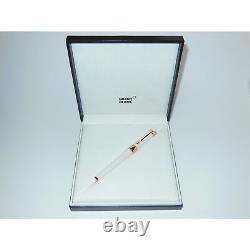 Open Box Montblanc Etoile Sand Diamond Fountain Pen Rouge Or 18k Nib F 113837