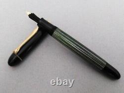 Pelikan 140 Stylo De Fontaine 14k Ef Flex Nib & Pelikan 350 Vintage En Boîte Rare