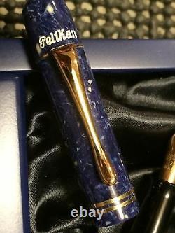 Pelikan 1935 Lapis Le Fountain Pen Nouveau Dans La Boîte B Nib