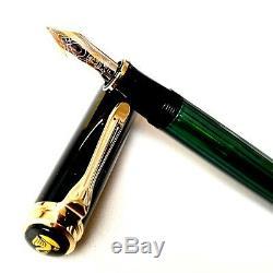Pelikan M400 Souveran Fountain Pen F Nib Box