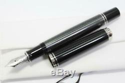 Pelikan M805 Souveran Noir Plume Nib F Finewith Box 2236