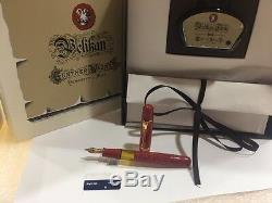 Pelikan Nib Édition Spéciale M101n Rouge Vif Plume, M & B Nouveau Dans La Boîte