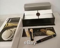 Pelikan Souveran Fountain Pen M800 Stone Garden F # 810074 Neuf Dans La Boîte