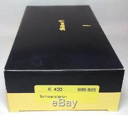 Pelikan Souveran K400 Stylo À Bille Vert Et Or Noir Garniture Neuf Dans La Boîte Produit