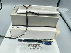 Pelikan Souveran M800 Fountain Pen Black Gt 18c Fine Nib New Boxed