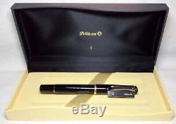 Pelikan Souveran R200 Roller Ball Pen Noir Nouveau Dans La Boîte Produit
