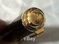 Pelikan Stylo Plume Souverän M1000 Noir 18k Nib F Withbox, Encre, Gurantee. Utilisé