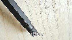 Rotring 600 Fountain Pen Noire Fine Pt & Converter W Lettres Rouges Neuf Dans La Boîte