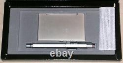 Rotring Stylo 600 Newton Et Titulaire De La Carte, Nib M, Finition Inoxydable, Emballé