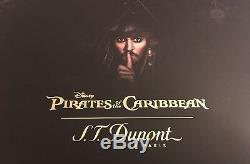 S. T. Dupont Stylo Bille Pirates Des Caraïbes Avec Support 265101, Nouveau Dans Une Boîte