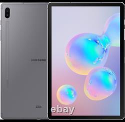 Samsung Galaxy Tab S6 128gb 10.5 Affichage Tablette Wi-fi Sm-t860 Pas De S-pen Boîte Ouverte