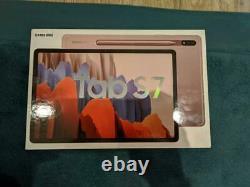 Samsung Galaxy Tab S7 128gb Avec S Pen Wi-fi Nouveau Dans La Boîte! Bronze
