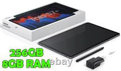 Samsung Galaxy Tab S7+ Plus -= 256 Go Avec 8 Go De Ram! =- Avec S Pen Nouveau Dans La Boîte -wifi