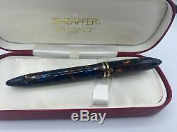 Sheaffer Balance II Aspen Se Fountain Pen Near Mint 18k Fin Nib Année 1999 Boxed