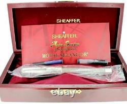 Sheaffer Bamboo Asia Série Stylo De Fontaine Nouveau Dans La Boîte 18k Large Nib État De La Menthe