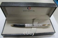 Sheaffer Vintage Fountain Pen Sterling Silver 14k Or Fine Pt Nouveau Dans Box USA