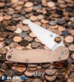 Spyderco Copper 2 Paramilitary (bladehq Exclusive) Unopened Box Avec Coin