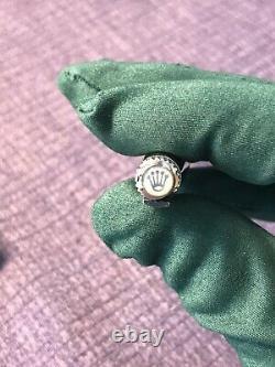 Stylo À Bille Authentique À Ondes Rolex Silver. Cadeau En Édition Limitée. Avecbox. Nouveau