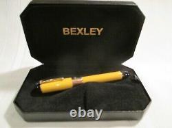 Stylo De Fontaine Bexley 115 Or Et Argent Nib Avec Boîte Originale (voir Description)
