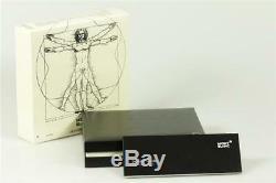 Stylo Montblanc Meisterstück Leonardo Sketch No. 169 Platinum Line Nouveau + Box