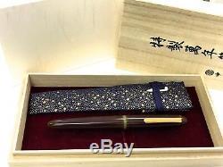 Stylo Plume Nakaya Modèle Cigare M Et Doux Brun 14k Avec Box, Importé Du Japon