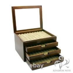 Toyooka Craft Fontaine Stylo Box Kingdom Note Sur Mesure Pour 40 Stylos Japon Nouveau