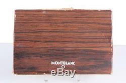 Vintage Meisterstück 149 Fountain Pen 18c Tri-color Nib Desk Stand Box