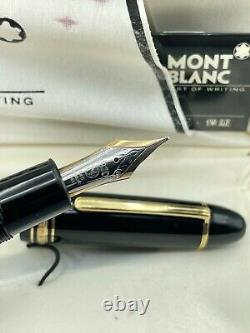 Vintage Montblanc 149 Fontaine Stylo Diplomat 14k Med Flexy Nib Beauty Boxed