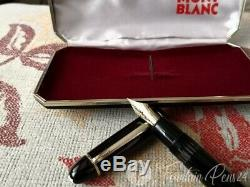 Vintage Montblanc Meisterstück 149 Nib 18c 750 Tricolor Fountain Pen + Box Orig