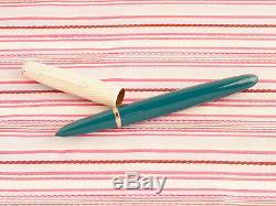 Vintage Parker 41 Coffret-fish Échelle De L'or Web Fountain Pen Crayon New Old Stock