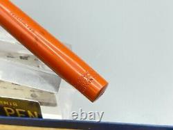 Vintage Waterman 55 Cardinal Rhr Fountain Pen #5 Flexible Nib Restauré Boîte