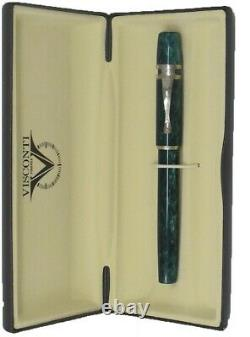 Visconti Ragtime Collection Pearled Green Rollerball Stylo Nouveau Dans La Boîte 561rl04