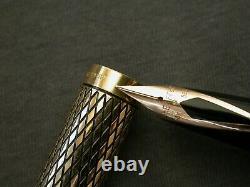 Vtg Sheaffer Imperial Sovereign 14k Gf / Fp / 585 Nib / Box / Convertisseur / Minty
