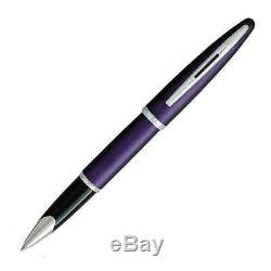 Waterman Carène Royal Violet Violet Rollerball Pen Neuf Dans La Boîte