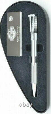Waterman Harley Davidson Horizon Ballpoint Pen Chrome Nouveau Dans La Boîte