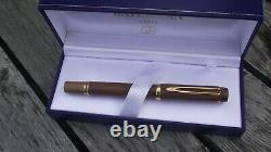Waterman Ideal Le Man 100 Bois D'olive - Pen 18k Gold Nib-now (nos) Box