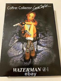 Waterman Kultur Tomb Raider Lara Croft Rollerball & Fountain Pen-cd Box Set-nos
