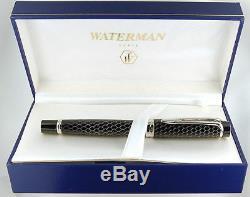Waterman Liaison Cobra Fountain Pen 18k Fin Pt Neuf Dans La Boîte Rare