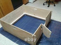 Whelping Box Large 47 X 47 W /pvc Railing + Liner /dog Puppy Pen / Prix De Vente