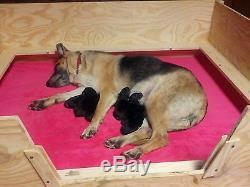 Whelping Box Robuste Petit Withrails Chausson 32x32 Chien, Chiot, Pen, Free S & H