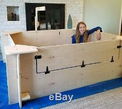 Whelping Box, Sevrage Box, Extra Large, 6' X 5' , Chien, Chiot Pen, En Rupture De Stock
