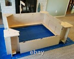 Whelping Box, Weaning Box, Extra Large, 6' X 5', Dog, Puppy Pen, Quickwhelp