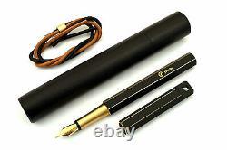 Ystudio Black Brassing Fountain Pen, Wood Box, Boîtier, Plus +++ Extra Stuff